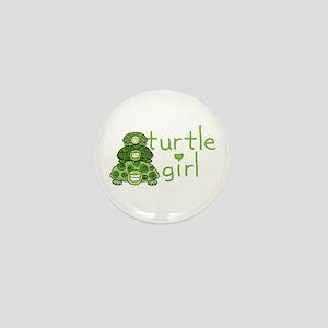 turtle girl Mini Button