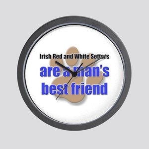 Irish Red and White Setters man's best friend Wall
