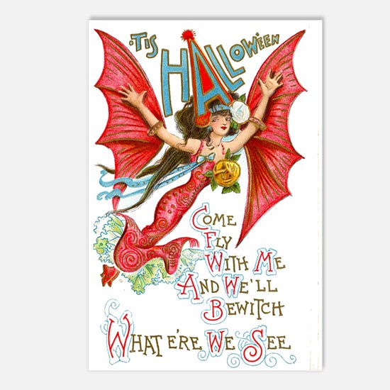 Flying Lady Postcards (Package of 8)