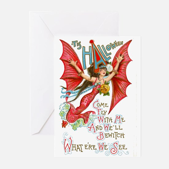 Flying Lady Greeting Cards (Pk of 10)
