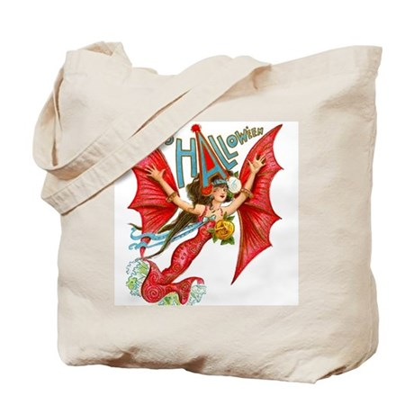 Flying Lady Tote Bag - See BOTH sides!