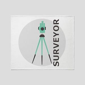 Surveyor Throw Blanket