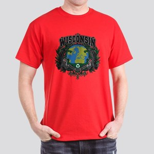 Wisconsin Green Pride Dark T-Shirt