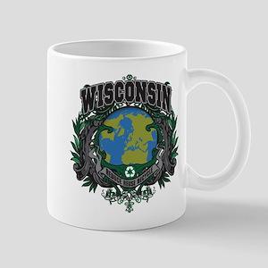 Wisconsin Green Pride Mug