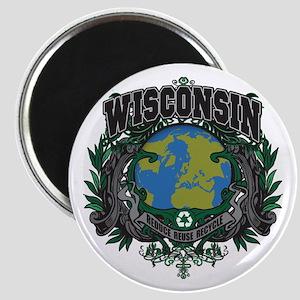 Wisconsin Green Pride Magnet