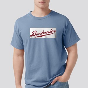 Retro Bartender Ash Grey T-Shirt