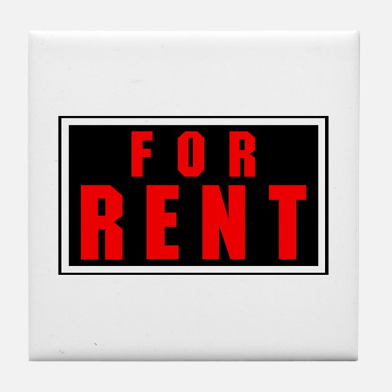 For Rent Tile Coaster
