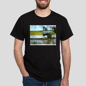 WOLF LAKE, IN Dark T-Shirt