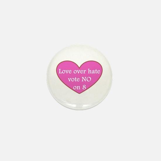 VOTE NO ON 8! (See Description) Mini Button (10 pa