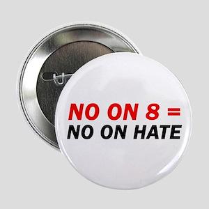 """VOTE NO ON 8! (See Description) 2.25"""" Button"""