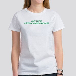 Daddys little Chestnut-Backed Women's T-Shirt