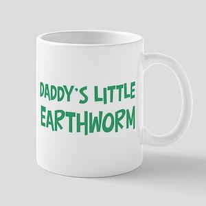 Daddys little Earthworm Mug