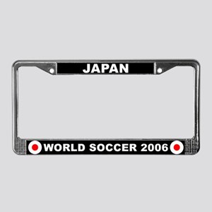 Japan World Cup 2006 Soccer License Plate Frame