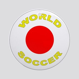 Japan World Cup 2006 Soccer Ornament (Round)