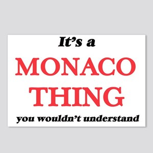 It's a Monaco thing, Postcards (Package of 8)