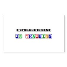 Cytogeneticist In Training Rectangle Sticker