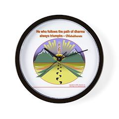 Wall Clock : Path of Dharma Triumphs