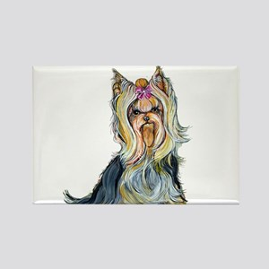 Yorkshire Terrier Her Highnes Rectangle Magnet