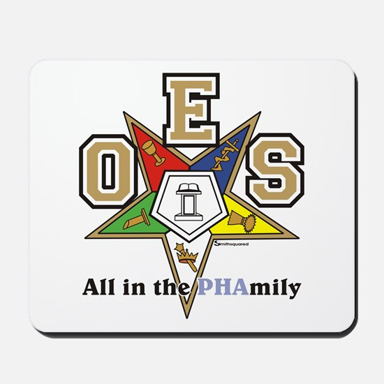 all in the PHAMILY Mousepad