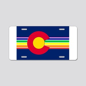 Big LGBTQI Colorado Aluminum License Plate