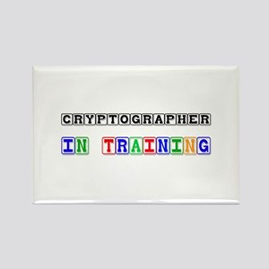Cryptographer In Training Rectangle Magnet