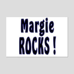 Margie Rocks ! Mini Poster Print