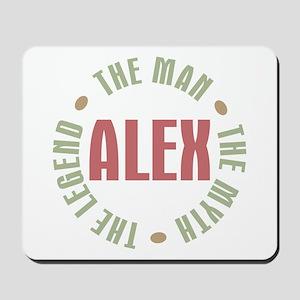Alex Man Myth Legend Mousepad