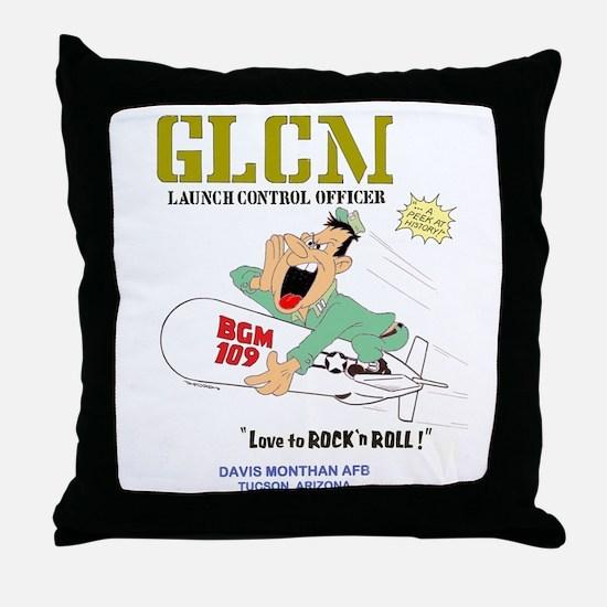 LAUNCH CONTROL OFFICER Throw Pillow