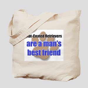 Flat-Coated Retrievers man's best friend Tote Bag