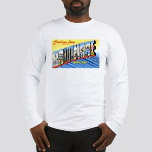 Baltimore Maryland Greetings Long Sleeve T-Shirt