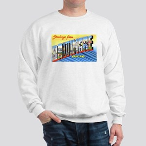 Baltimore Maryland Greetings Sweatshirt