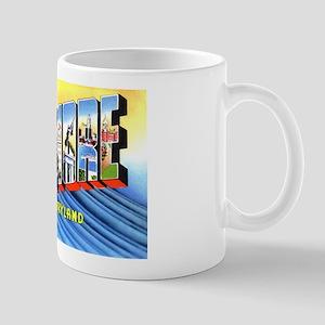 Baltimore Maryland Greetings Mug