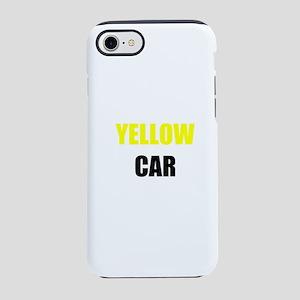 Yellow Car iPhone 8/7 Tough Case