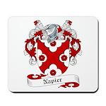 Napier Family Crest Mousepad