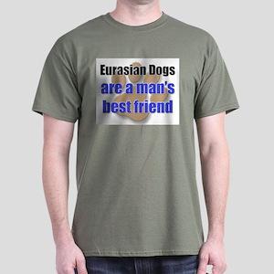 Eurasian Dogs man's best friend Dark T-Shirt