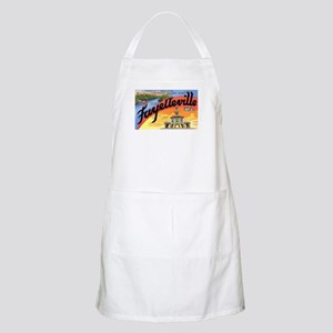 Fayetteville North Carolina Greetings BBQ Apron
