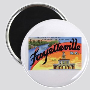Fayetteville North Carolina Greetings Magnet
