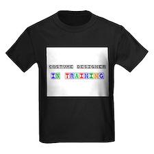 Costume Designer In Training Kids Dark T-Shirt