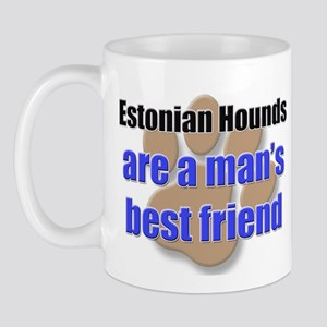 Estonian Hounds man's best friend Mug
