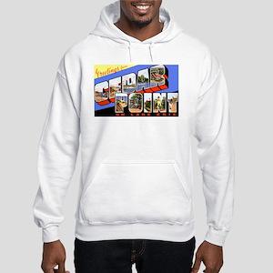 Cedar Point Ohio Greetings Hooded Sweatshirt