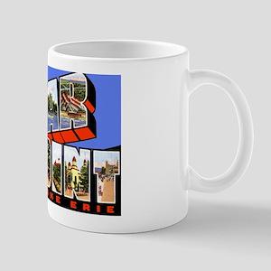 Cedar Point Ohio Greetings Mug