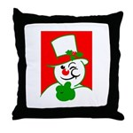 Cool Yule Logo Throw Pillow