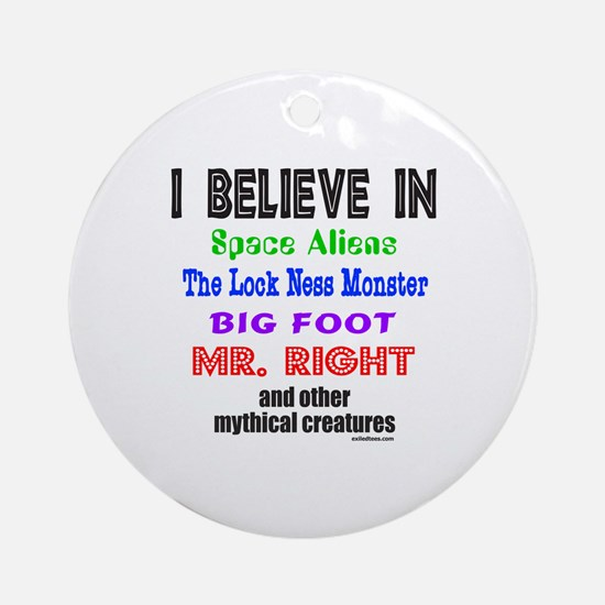 MR. RIGHT Ornament (Round)