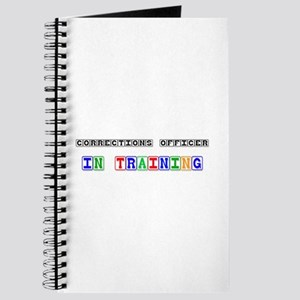 Corrections Officer In Training Journal