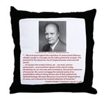 Still Liking Ike Throw Pillow