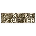 The Stone Cutter Bumper Sticker