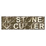 The Stone Cutter Bumper Sticker (10 pk)
