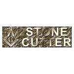 The Stone Cutter Bumper Sticker (50 pk)