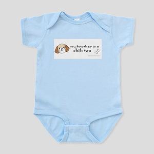 shih tzu gifts Infant Bodysuit