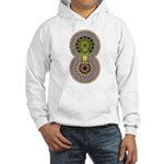 Geo Organic Hooded Sweatshirt